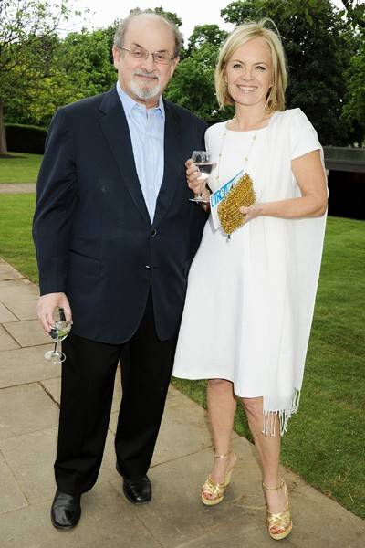 Salman Rushdie and Mariella Frostrup