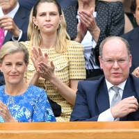 The Countess of Wessex and the Prince Albert II of Monaco