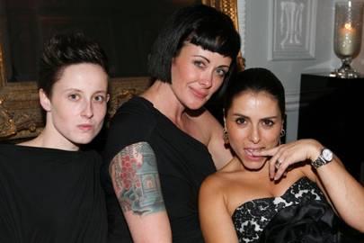 Florence Ovsec, Julie Cooper and Liz Martins