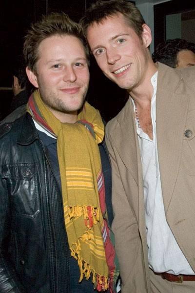 Adam Tudhope and Jont Whittington