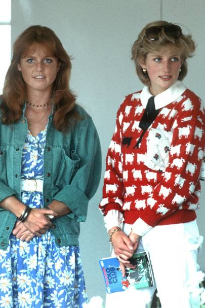 Sarah, Duchess of York and Diana, Princess of Wales