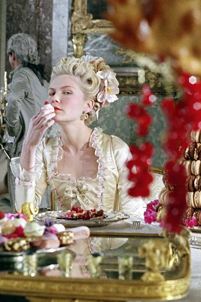Kirstin Dunst in Marie Antoinette