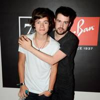 Harry Styles and Jack Whitehall