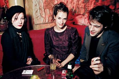 Beatrice Hodgkin, Edwina Ekek and Dan Gieves