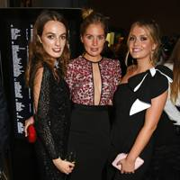 Lady Violet Manners, Marissa Montgomery and Lady Kitty Spencer