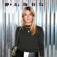 Camille Charriere at the Longchamp show