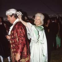Lord Tryon and Countess Filippo Guerrini Maraldi