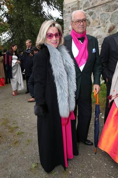 Princess Alexandra and Hubertus Viktor Fuerst Fugger-Babenhausen