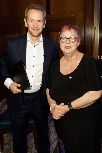 Alexander Armstrong and Jo Brand