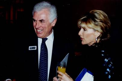 John Danilovich and Countess Bee Van Zuylen