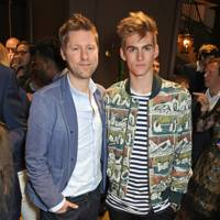 Christopher Bailey and Presley Gerber