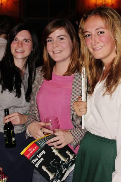 Sarah Cowen-Rivers, Heather Morris and Fiona Lethbridge