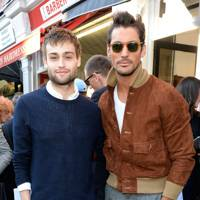 Douglas Booth and David Gandy