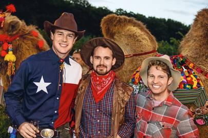 Captain Scott Pryor, Michael Butler and Ian Bailey