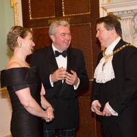 Catherine Drummond Herdman, Giles Herdman and The Lord Mayor of London