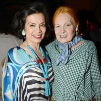 Bianca Jagger and Dame Vivienne Westwood