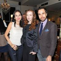 Yasmin Mills, Olivia Grant and Diego Bivero-Volpe