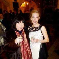 Lady Sudeley and Alexandra Kennedy