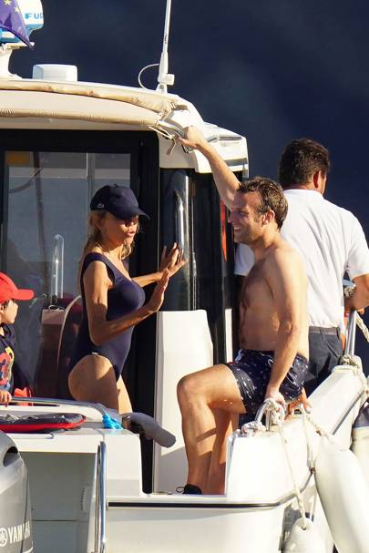 Emmanuel And Brigitte Macron Enjoy Staycation On The Cote D Azur Tatler