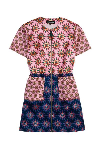 Twill dress, £310, by House of Holland
