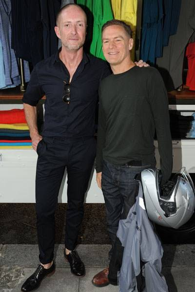 Adam Brown and Bryan Adams
