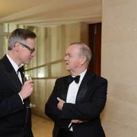 Tom Weldon and Ian Hislop