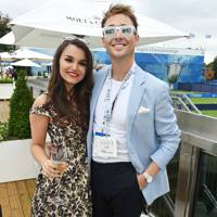 Samantha Barks and Ross Witherden