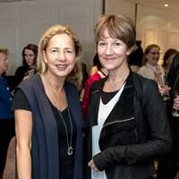 Iwona Blazwick and Fiona Rae