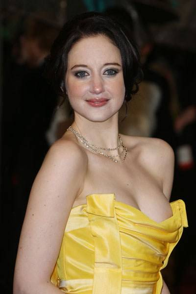 The 'Where've You Been Hiding Those?' Prize for Cleavage: Andrea Riseborough
