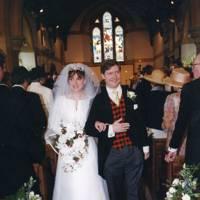 Mrs Ninian MacGregor and Ninian MacGregor