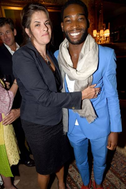 Tracey Emin and Tinie Tempah
