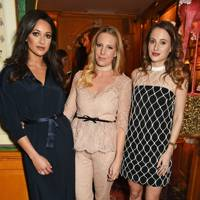 Roxie Nafousi, Alice Naylor-Leyland and Rosie Fortescue