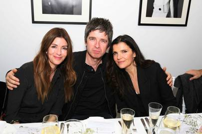 Sara McDonald, Noel Gallagher and Ali Hewson