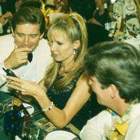 Anthony Andrews, Mrs Robert Sangster and Charlie Carter