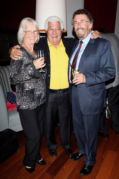 Babs Powell, Antonio Carluccio and Robert Powell