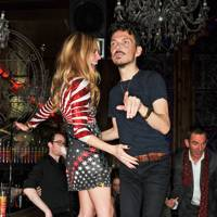 Cat Deeley and Matthew Williamson
