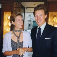 Mrs James Ogilvy and James Ogilvy