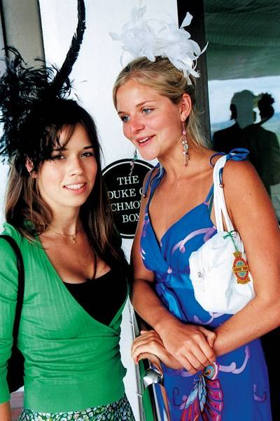 Catherine Collins and Camilla Currey
