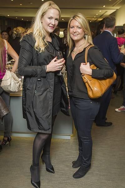Hannah Roberts and Kate Bright