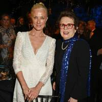 Joely Richardson and Billie Jean King