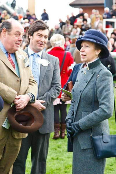 Nicholas Soames, Nathaniel Parker and The Princess Royal