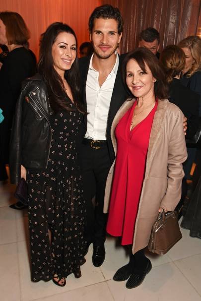 Alana Phillips, Arlene Phillips and Gleb Savchenko