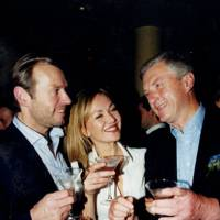 Raymond Dols, Scarlett van Ketwick Verschuur and the Hon Andrew Fraser