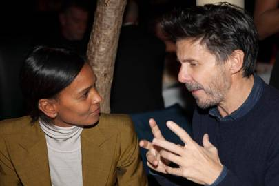 Liya Kebede and Guido Palau