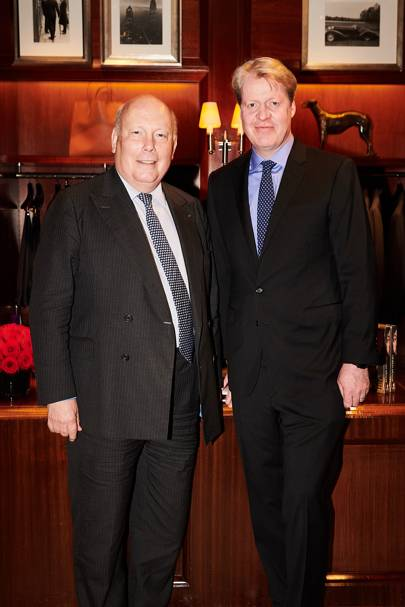 Lord Fellowes and Earl Spencer
