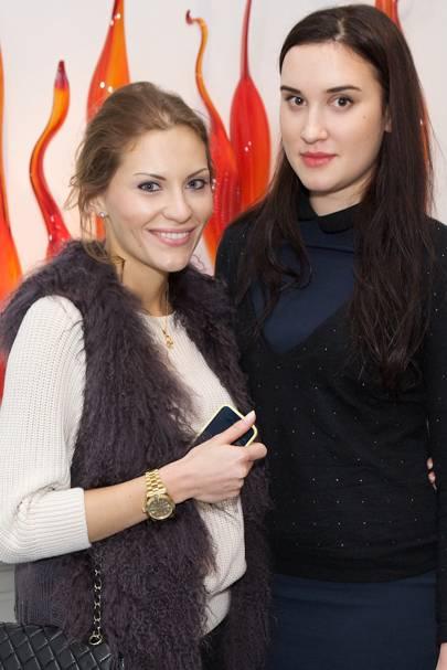 Eraterina Savelyeva and Eraterina Soloukhina