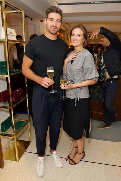 Ben Lipari and Sarah Larn