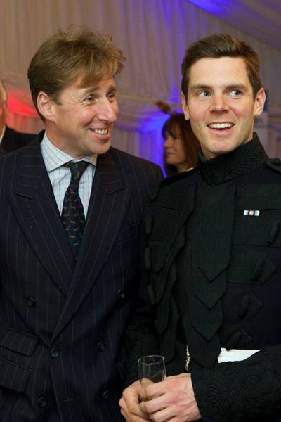 Daniel Crane and Captain Alex Owen
