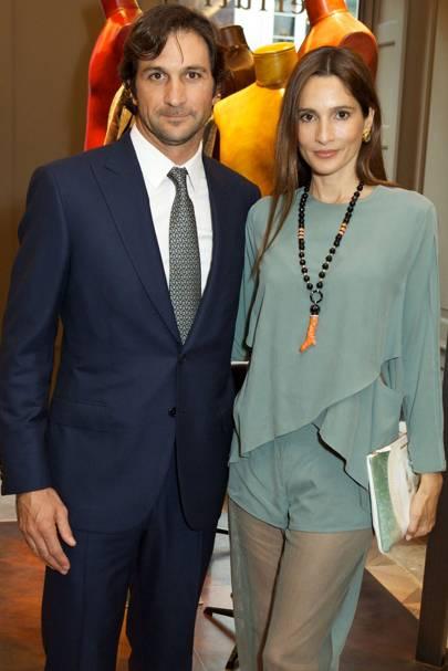 Eduardo Novillo Astrada and Astrid Muñoz