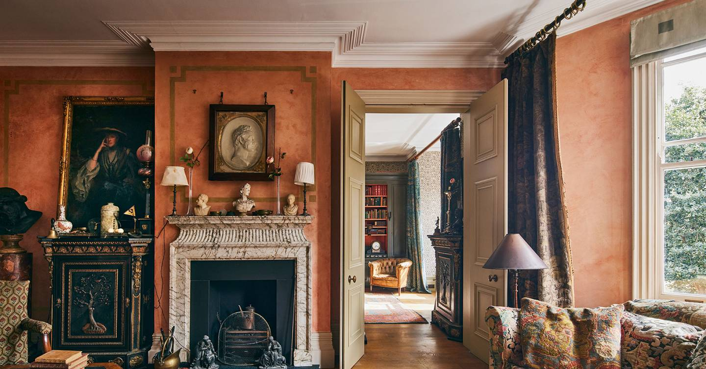 An apartment in the Chelsea mansion block that T.S. Eliot, Henry James and Ian Fleming all called home is for sale